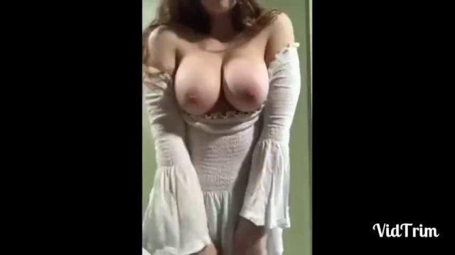 Teen with big tits compilation