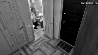 THE WIFE CHEATED ON HER HUSBAND WITH A PLUMBER (Hidden cam)